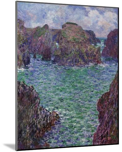 Port-Goulphar, Belle-Ile, 1887-Claude Monet-Mounted Premium Giclee Print