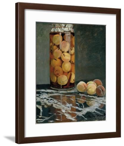 Jar of Peaches, 1866-Claude Monet-Framed Art Print