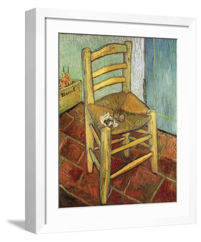 Vincent's Chair, 1888-Vincent van Gogh-Framed Art Print