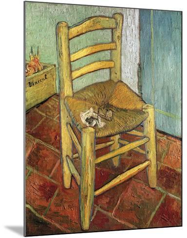 Vincent's Chair, 1888-Vincent van Gogh-Mounted Premium Giclee Print