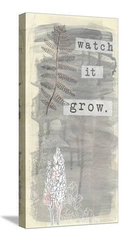 Garden Scrapbook VI-June Erica Vess-Stretched Canvas Print