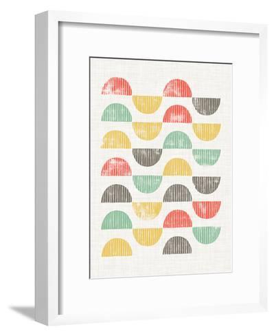 Mod Block Prints I-Grace Popp-Framed Art Print
