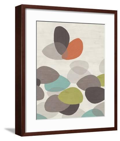 Lily Pond I-June Erica Vess-Framed Art Print