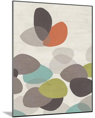 Lily Pond I-June Erica Vess-Mounted Art Print