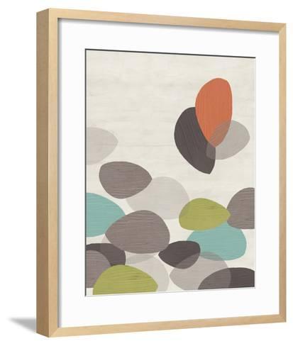 Lily Pond II-June Erica Vess-Framed Art Print