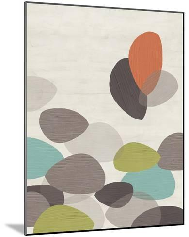 Lily Pond II-June Erica Vess-Mounted Art Print