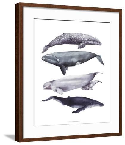 Whale Stack I-Grace Popp-Framed Art Print