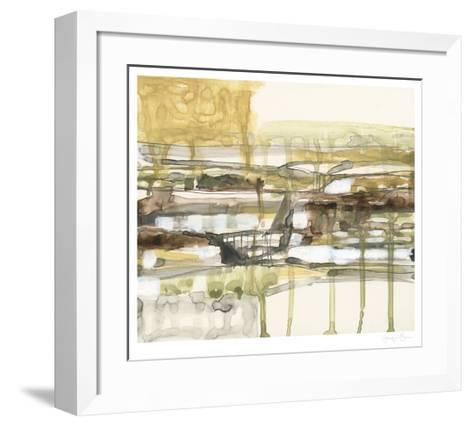 Earth Layers I-Jennifer Goldberger-Framed Art Print