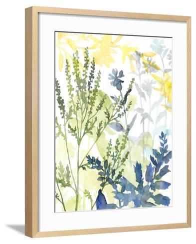 Layered Blooms I-Megan Meagher-Framed Art Print
