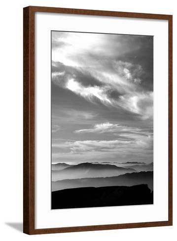 Black & White Sky-PhotoINC Studio-Framed Art Print