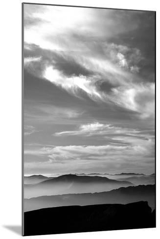 Black & White Sky-PhotoINC Studio-Mounted Art Print