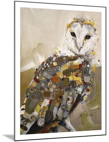 Luminous Barn 2-Britt Freda-Mounted Art Print
