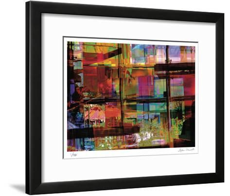 Abstract Bar-Stephen Donwerth-Framed Art Print