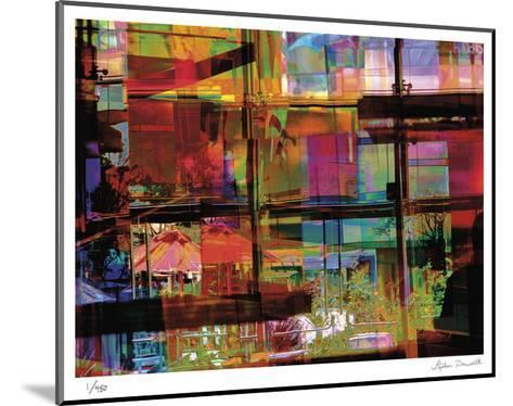 Abstract Bar-Stephen Donwerth-Mounted Limited Edition