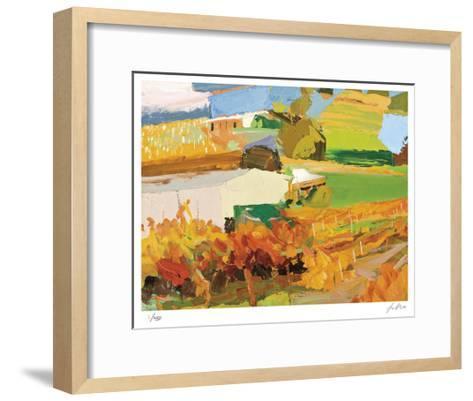 Autumn Vines-Lise Temple-Framed Art Print