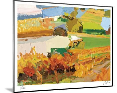 Autumn Vines-Lise Temple-Mounted Limited Edition