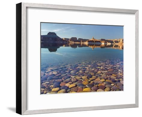 Ancient River Rock from the Colorado River II-Donald Paulson-Framed Art Print