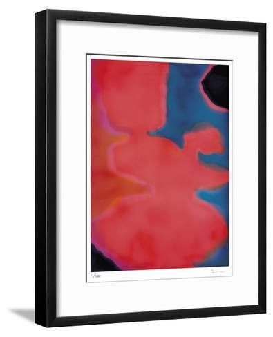 Amidst The Fog- Lola-Framed Art Print