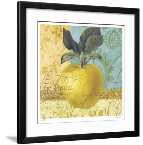 Apple Collage-Paula Scaletta-Framed Art Print