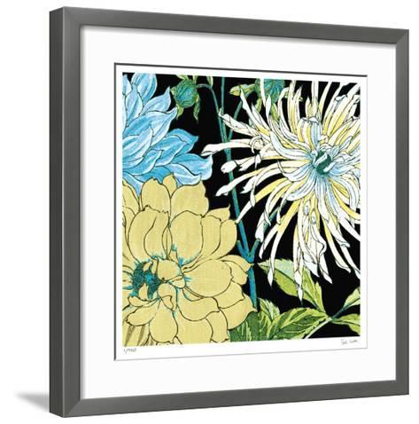 Black Dahlia I-Paula Scaletta-Framed Art Print