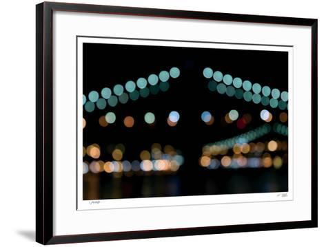 Brooklyn Bridge No 10-Eva Mueller-Framed Art Print