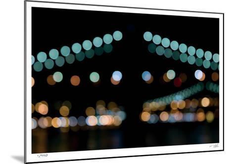 Brooklyn Bridge No 10-Eva Mueller-Mounted Limited Edition