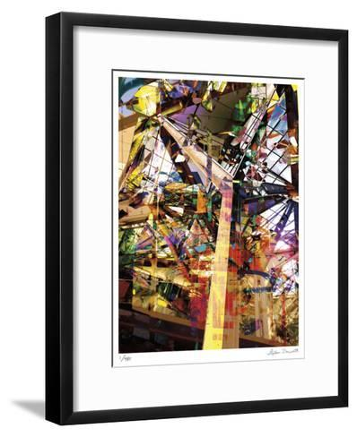 Abstract Reflection Honolulu-Stephen Donwerth-Framed Art Print