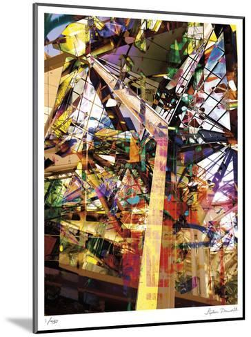 Abstract Reflection Honolulu-Stephen Donwerth-Mounted Limited Edition
