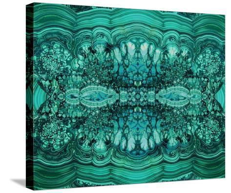 Majestic Malachite-Danielle Carson-Stretched Canvas Print