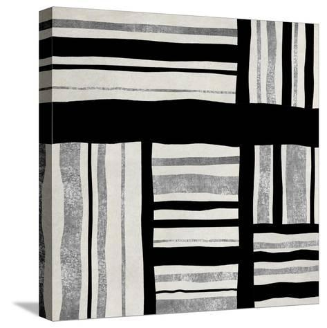 Silver Groove I-Ellie Roberts-Stretched Canvas Print