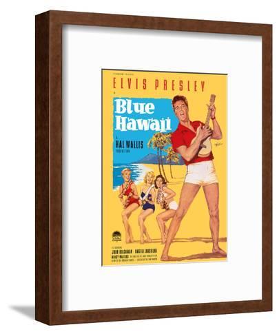 Elvis Presley in Blue Hawaii-Rolf Goetze-Framed Art Print