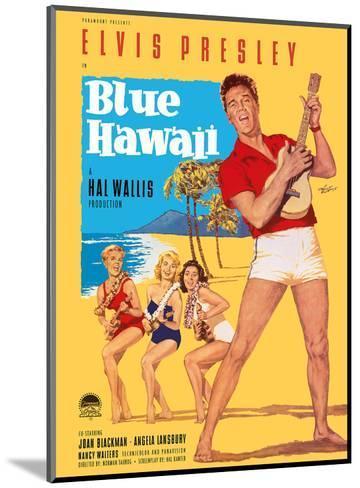 Elvis Presley in Blue Hawaii-Rolf Goetze-Mounted Art Print
