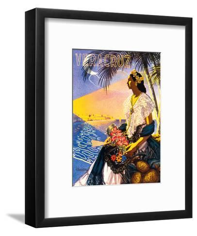 Veracruz, Mexico-Diaz-Framed Art Print