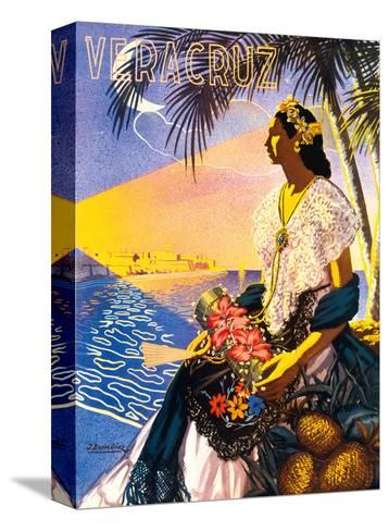 Veracruz, Mexico-Diaz-Stretched Canvas Print