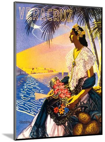 Veracruz, Mexico-Diaz-Mounted Art Print