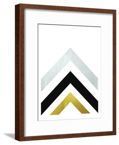 Geometric Art 20-Pop Monica-Framed Art Print