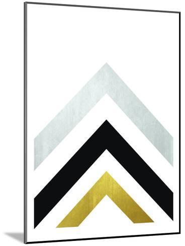 Geometric Art 20-Pop Monica-Mounted Art Print