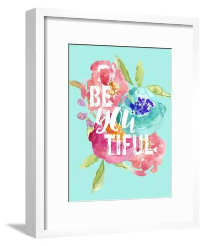 Beyoutiful Floral-Amy Brinkman-Framed Art Print