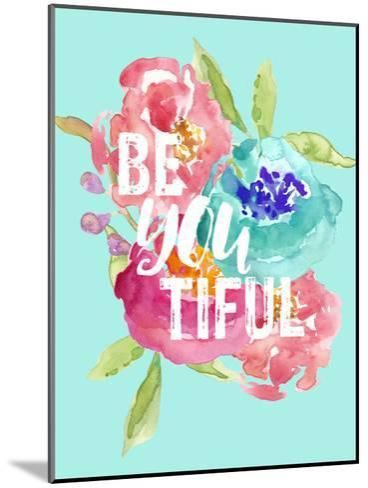 Beyoutiful Floral-Amy Brinkman-Mounted Art Print