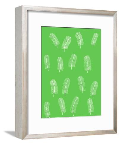Feathers 1-Jorey Hurley-Framed Art Print
