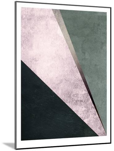 Geometric Art 1-Pop Monica-Mounted Art Print