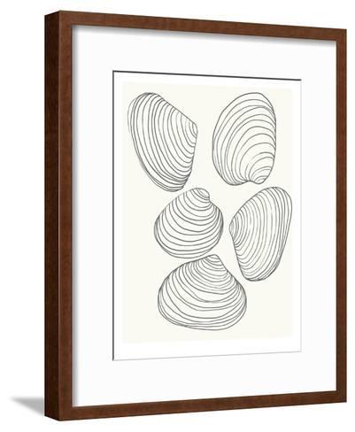 Clams-Jorey Hurley-Framed Art Print