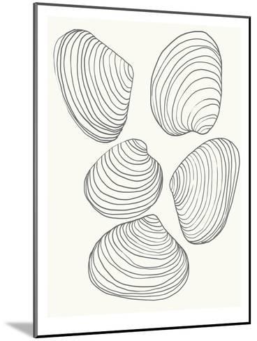 Clams-Jorey Hurley-Mounted Art Print