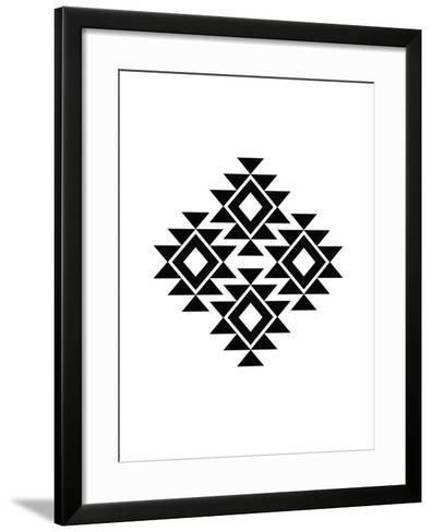 Geometric Art 11-Pop Monica-Framed Art Print