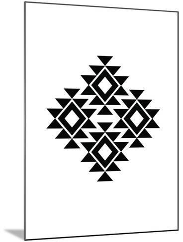 Geometric Art 11-Pop Monica-Mounted Art Print