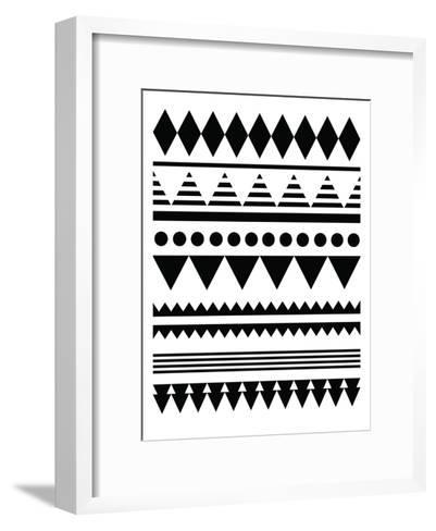 Geometric Art 12-Pop Monica-Framed Art Print