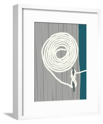 Coil And Cleat 1-Jorey Hurley-Framed Art Print