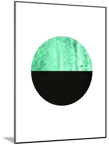 Geometric Art 14-Pop Monica-Mounted Art Print