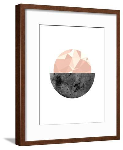 Geometric Art 16-Pop Monica-Framed Art Print