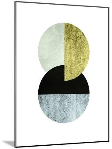 Geometric Art 17-Pop Monica-Mounted Art Print